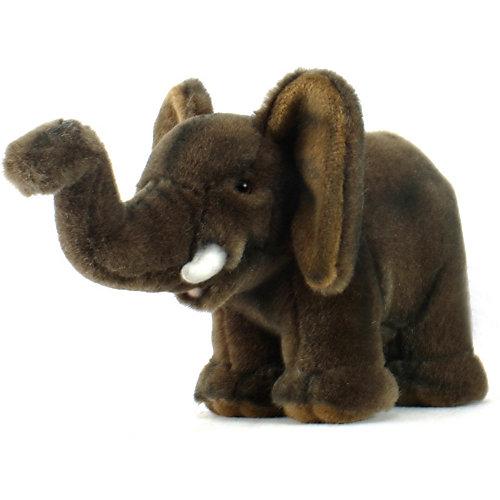"""Мягкая игрушка Hansa """"Экзотические животные"""" Слонёнок, 15 см от Hansa"""