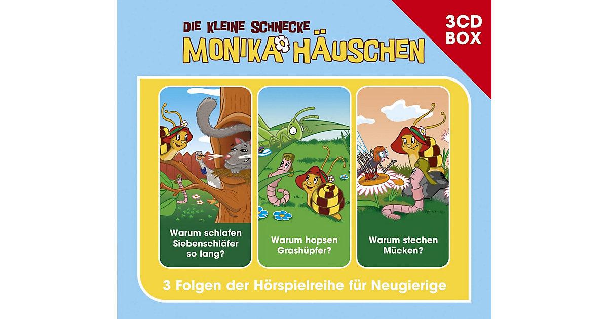 CD Kleine Schnecke Monika Häuschen 04 - 3er Box