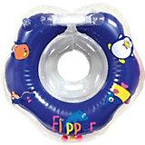 Flipper - круг на шею для купания малышей 0+ в Новогодней упаковке