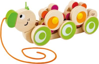 Holzspielzeug Hape Nachzieh-Schnecke Nachzieh-Tier-Holz