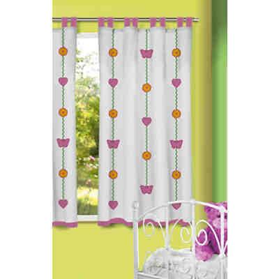 gardine fr hlingsbaum 245 x 140 cm 1 schal mytoys. Black Bedroom Furniture Sets. Home Design Ideas