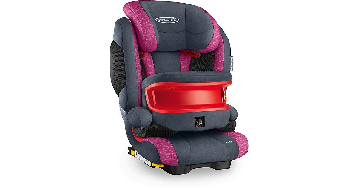 Storchenmühle · STORCHENMÜHLE Kindersitz Solar IS Seatfix rosy