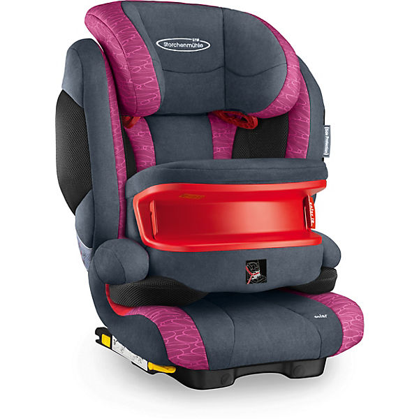 Auto-Kindersitz Solar IS Seatfix, Rosy