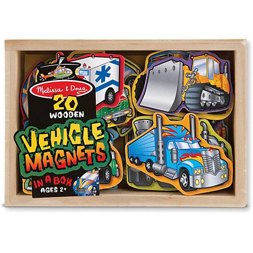 """Магнитная игра """"Автомобили"""", Melissa & Doug от Melissa & Doug"""