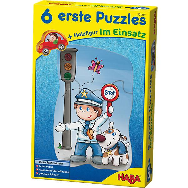 6 erste Puzzles - Im Einsatz, Haba