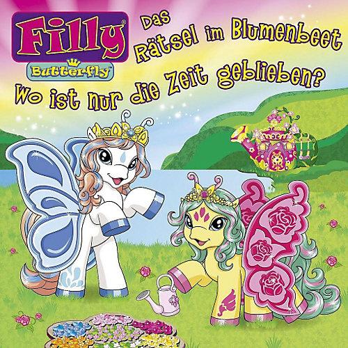 Universal CD Filly 01- Das Rätsel im Blumenbeet / Wo ist nur die Zeit geblieben?