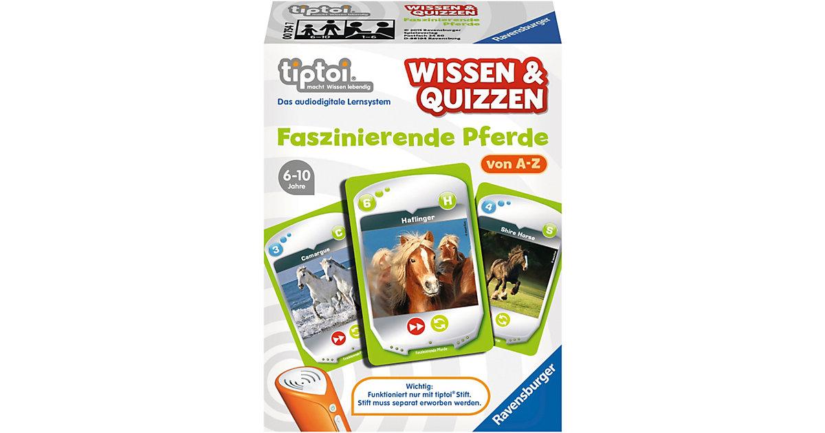 tiptoi® Wissen & Quizzen: Faszinierende Pferde (ohne Stift)