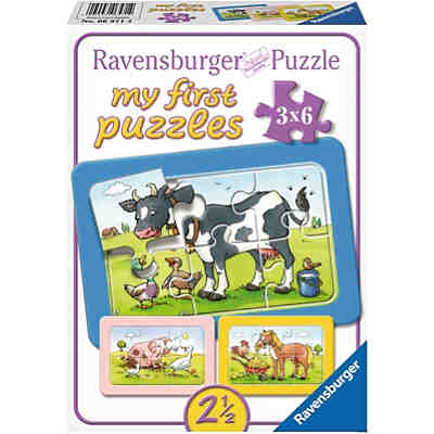 My first Puzzles - Rahmenpuzzle  Gute Tierfreunde