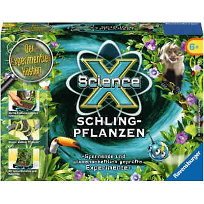 ScienceX® Mini Schlingpflanzen