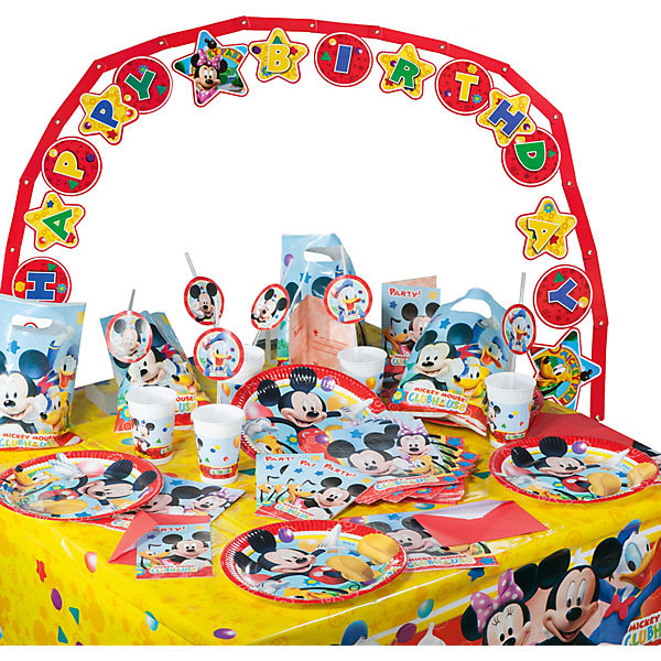 Partyset Playful Mickey Mouse 56 tlg Disney Mickey Mouse