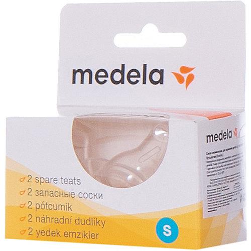 Соски силиконовые, 2 шт/уп, размер S, Medela от Medela