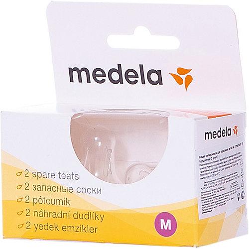 Соски силиконовые, 2 шт/уп, размер M, Medela от Medela