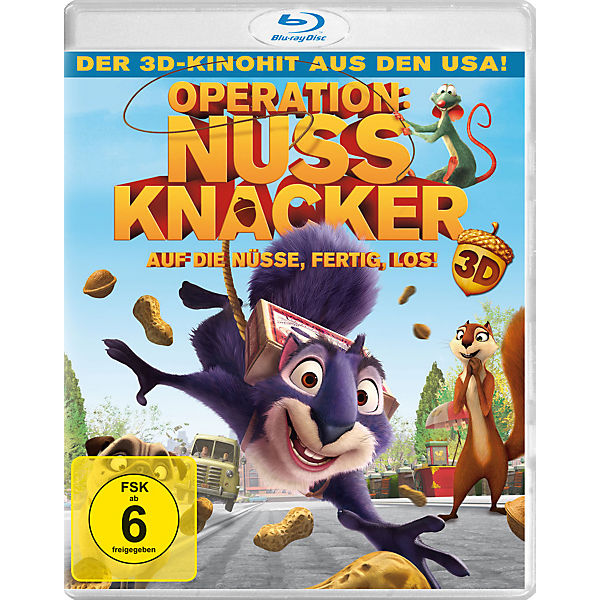 BLU-RAY Operation Nussknacker 3D