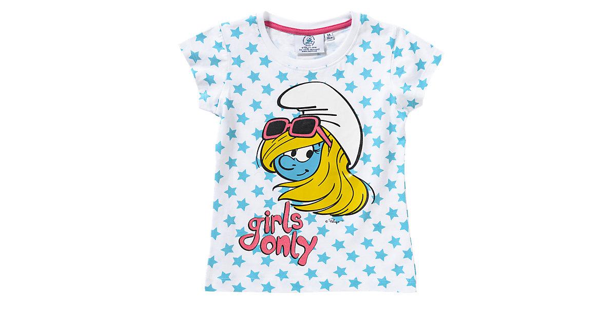 SCHLÜMPFE T-Shirt Gr. 92 Mädchen Kleinkinder
