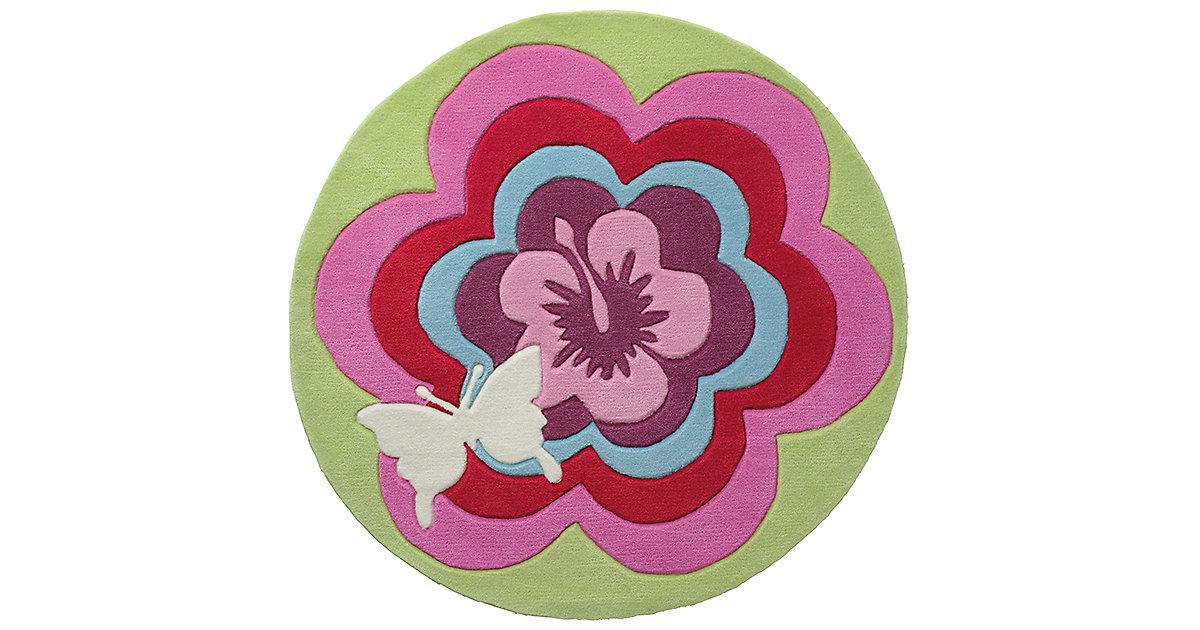 ESPRIT · Kinderteppich Fantasy Flower Gr. 150 x 150