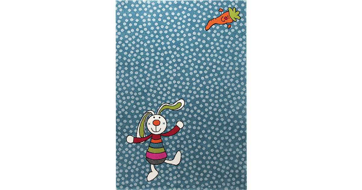 Kinderteppich Rainbow Rabbit Gr. 80 x 150