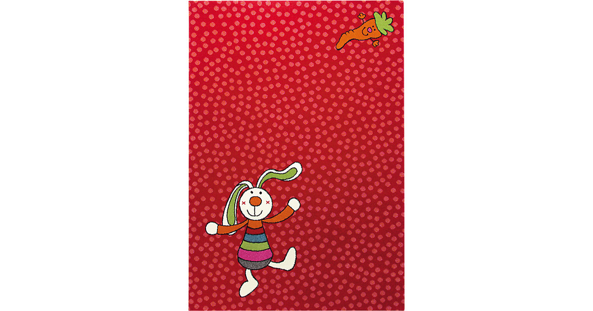 Kinderteppich Rainbow Rabbit Gr. 80 x 150