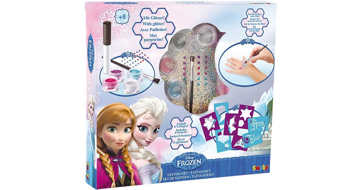 Die Eiskönigin Tattoo-Set mit Glitter