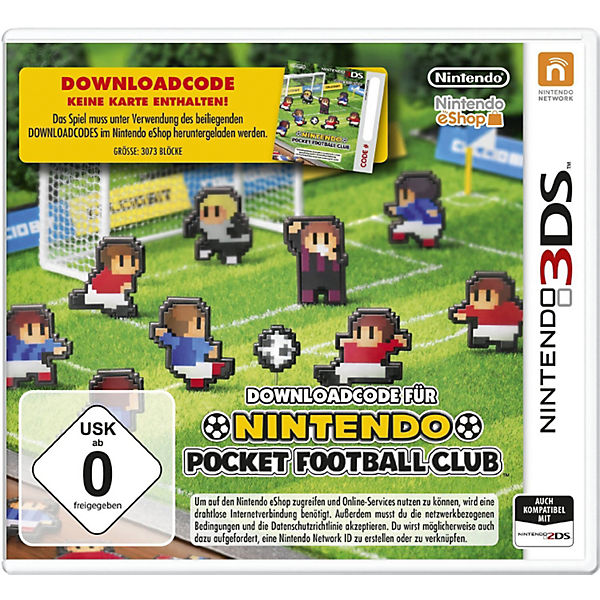 3DS Pocket Football (Downloadcode)