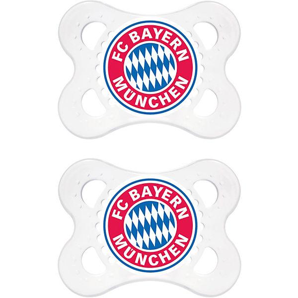 Schnuller Fussball Silikon Gr 1 Fc Bayern Munchen Fussballverein Fc Bayern Munchen