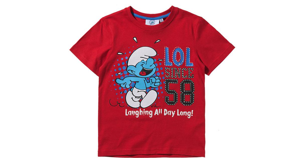 SCHLÜMPFE T-Shirt Gr. 98 Jungen Kleinkinder