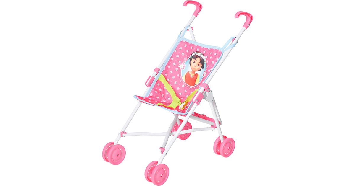 Puppenbuggy Sim - Heidi rosa-kombi