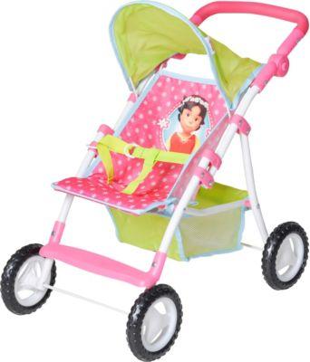 Babypuppen & Zubehör Knorrtoys Liba Puppenwagen Buggy Star blue