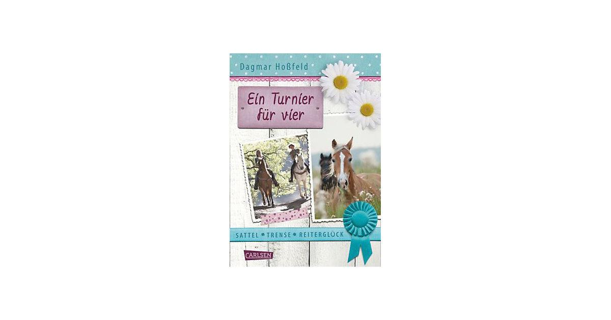 Sattel, Trense, Reiterglück: Ein Turnier vier K...