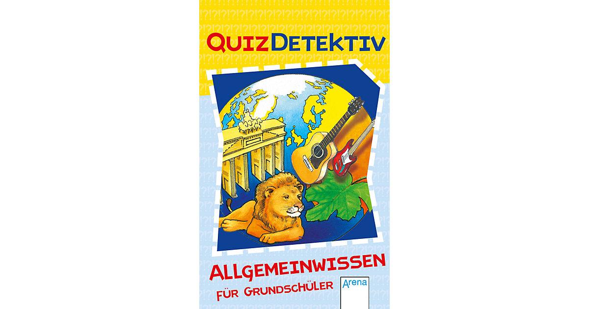 QuizDetektiv: Allgemeinwissen Grundschüler Kinder