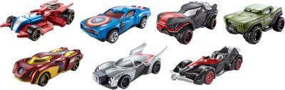 Машинки героев Marvel в ассортименте, Hot Wheels
