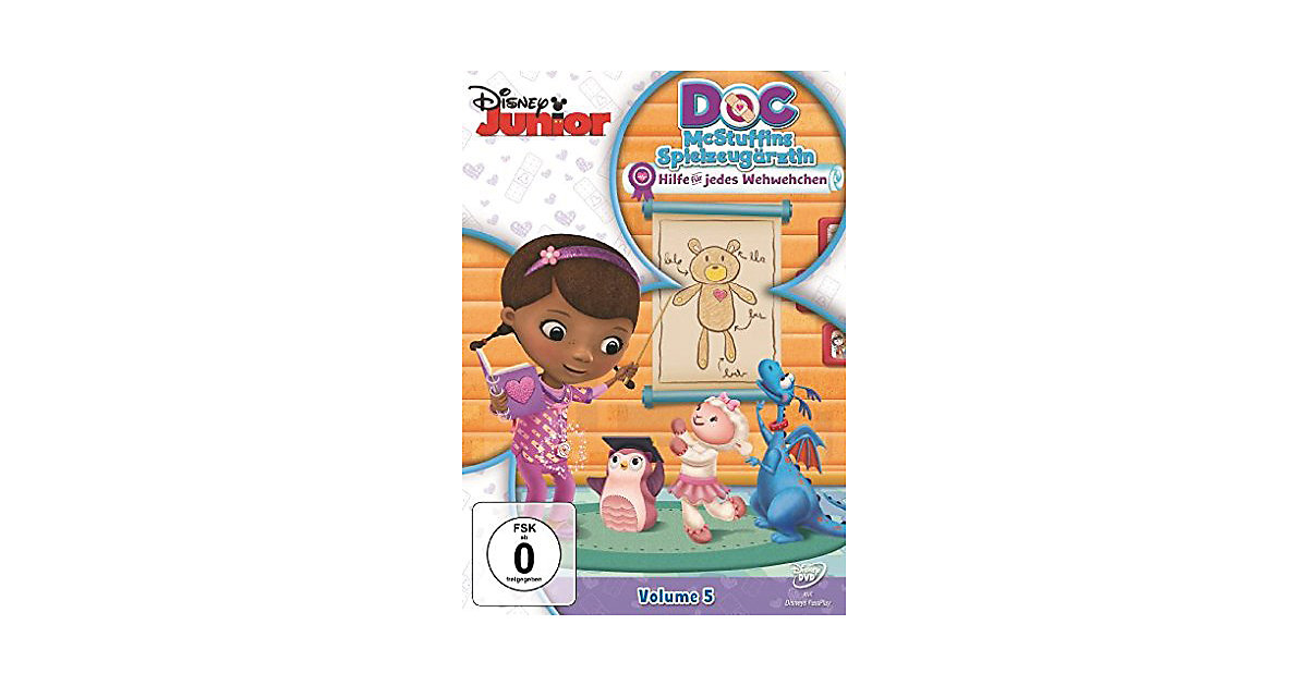 DVD Doc McStuffins Spielzeugärztin - Hilfe jede...