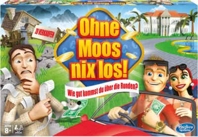 Ohne Moos nix los!