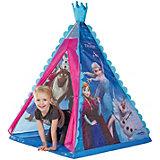 """Палатка-вигвам с ночником John """"Холодное сердце"""", голубая"""