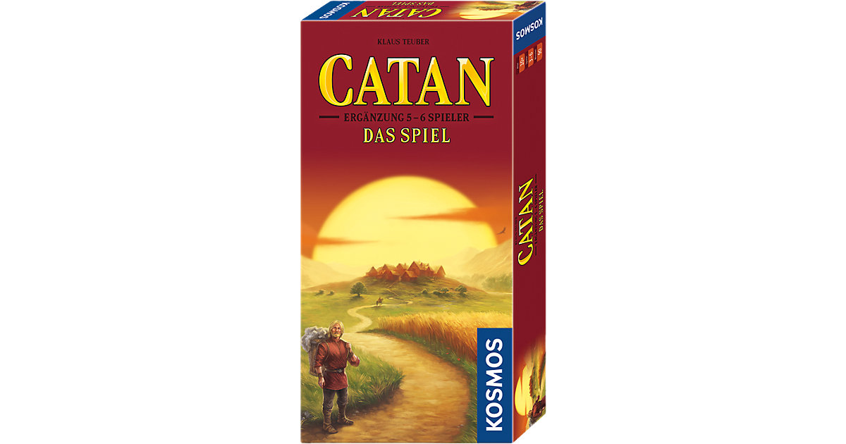 Catan - Das Spiel - Ergänzung 5-6 Spieler  Kinder