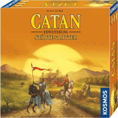 Catan - Erweiterung Städte & Ritter 3-4 Spieler