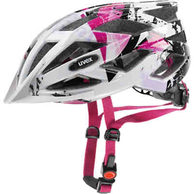 Fahrradhelm air wing 52-57, white-pink