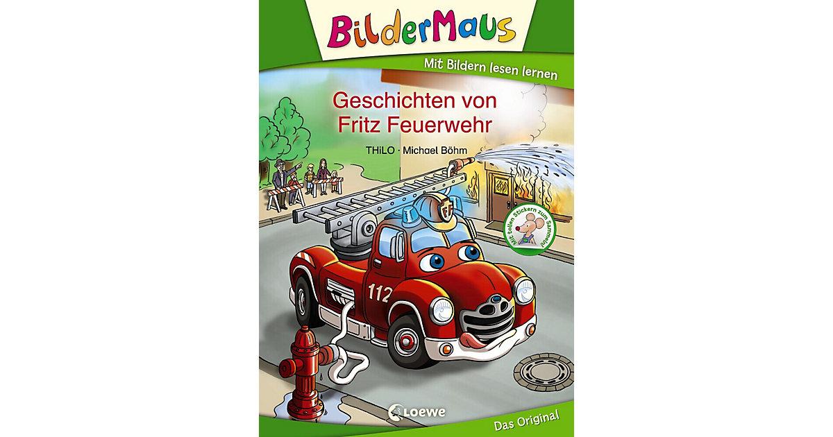 Bildermaus: Geschichten von Fritz Feuerwehr