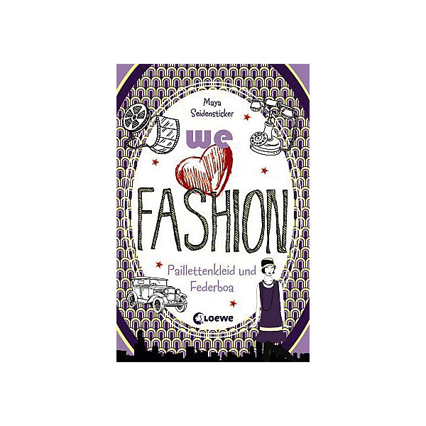 we love fashion: Paillettenkleid und Federboa