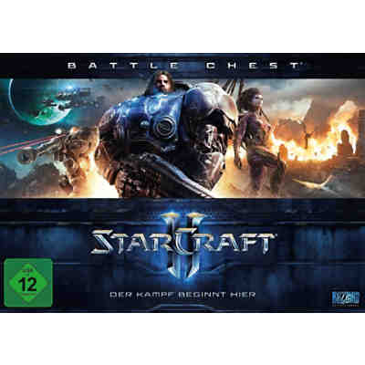 PC Starcraft 2 Battlechest