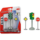 Светофор с набором знаков дорожного движения  Dickie Toys