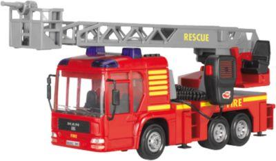 Dickie Toys Feuerwehrauto Feuerwehr Wagen Auto Fire Hero Wasserspritze Mikrophon Spielzeugautos