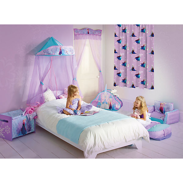 vorhang die eisk nigin blickdicht 250 x 140 cm disney. Black Bedroom Furniture Sets. Home Design Ideas
