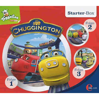 CD Chuggington - Starter Box (Folgen 1,2,3)