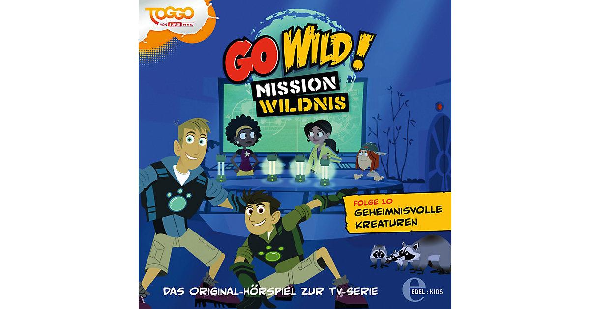 CD Go Wild 10 - Geheimnissvolle Kreaturen Hörbuch