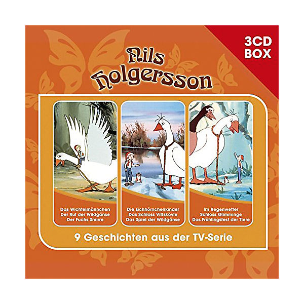 CD Nils Holgersson - 3er Box 01