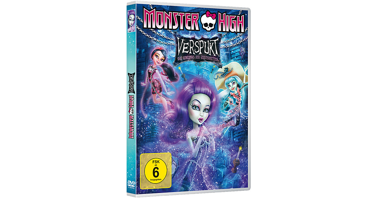 DVD Monster High: Verspukt - Das Geheimnis der ...