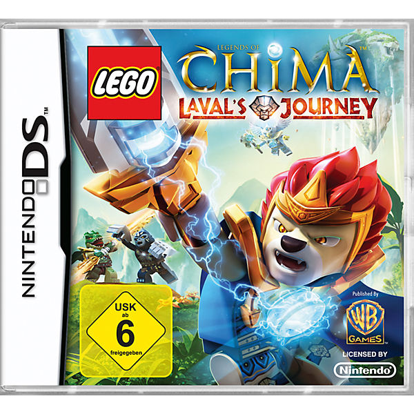 NDS LEGO Legends of Chima - Leval's Journey