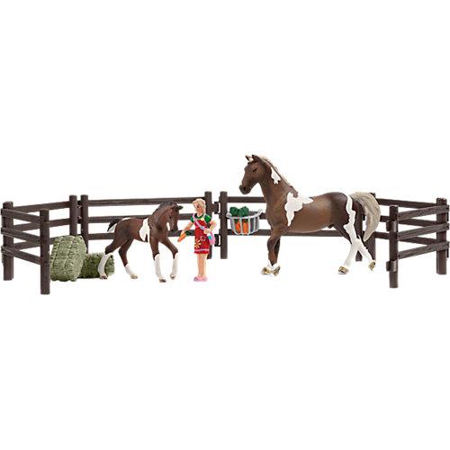 Schleich 21049 Horse Club: Playset Pferdefütterung Sale Angebote Pinnow-Heideland