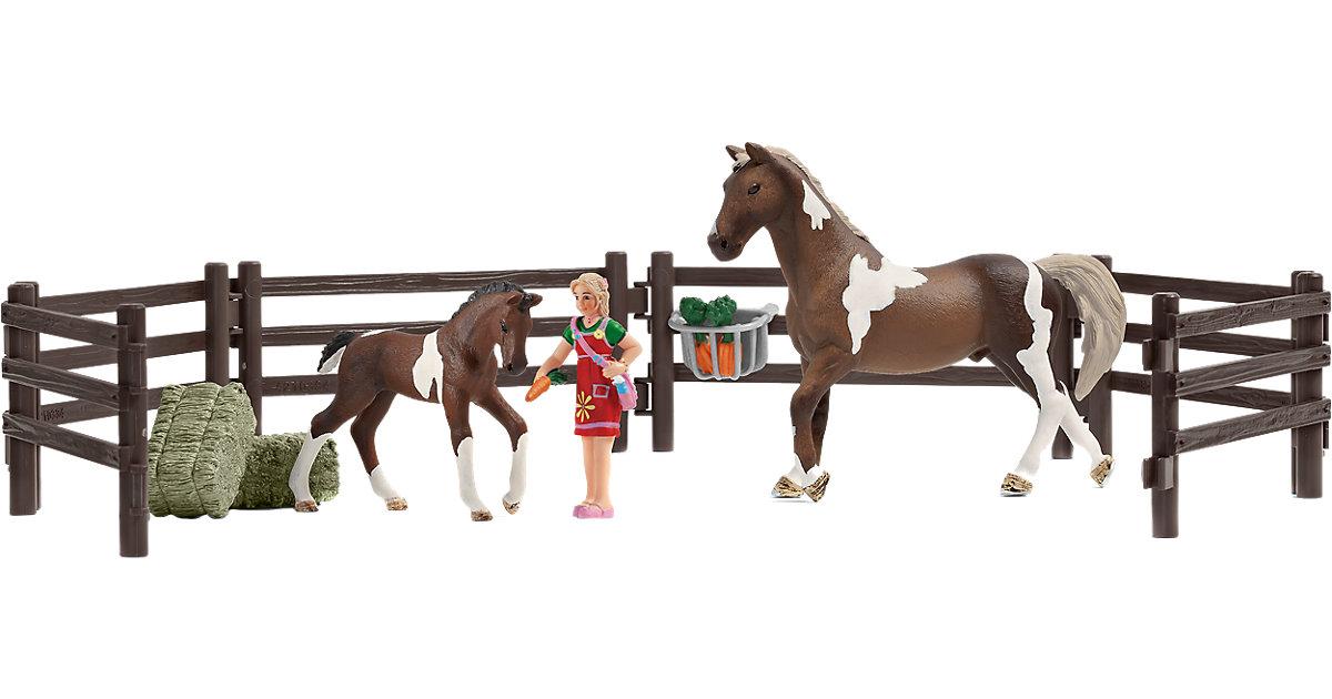 Schleich 21049 Horse Club: Playset Pferdefütterung
