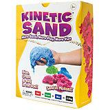 Кинетический песок 3 кг (три цвета), WABA FUN